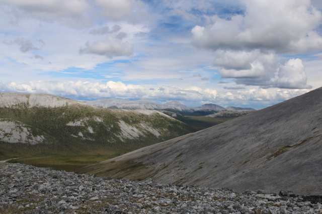 Windy Pass, Yukon. Up on the edge of Beringia.